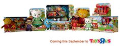 "Here's a ""sneak peek"" first look at the brand-new Daniel Tiger's Neighborhood toy line, coming to a Toys ''R'' Us in your neighborhood (and on www.toysrus.com) in September! (via @Patti Stamp Parents)"