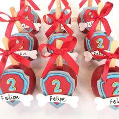 Patrulha Canina do Felipe! #lalakdoceria #patrulhacanina #pawpatrol #cupcakes #encontrandoideias ...