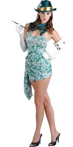 lady luck / casino / monaco costume