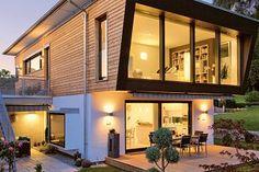 Regnauer Hausbau - Fertighaus Kufstein - Außenansicht 3
