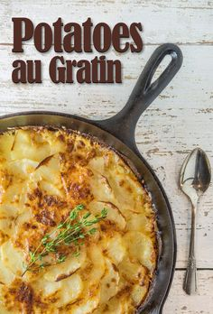 Southern Boy Dishes has Potatoes au Gratin at FoodBlogs.com