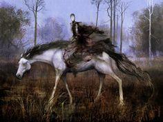 Pale Rider of Trostad by Seb-M.deviantart.com on @DeviantArt