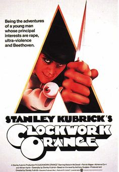 Encore -- A clockwork orange [videorecording] / Warner Bros. a Stanley Kubrick production ; produced and directed by Stanley Kubrick ; screenplay by Stanley Kubrick . Famous Movie Posters, Classic Movie Posters, Famous Movies, Cinema Posters, Cult Movies, Iconic Movies, Classic Films, Good Movies, Abc Movies