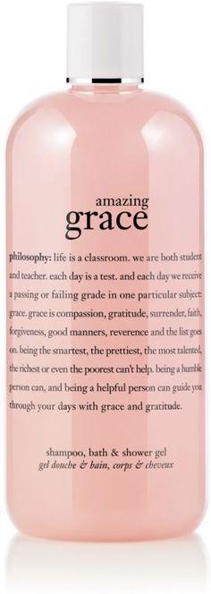 Philosophy Amazing Grace Perfumed Shampoo, Shower Gel And Bubble Bath Ulta.com - Cosmetics, Fragrance, Salon and Beauty Gifts