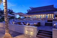 Sea.Fire.Salt. at Anantara Mai Khao, in the north of Phuket, Thailand, is a beautiful beach-side eatery