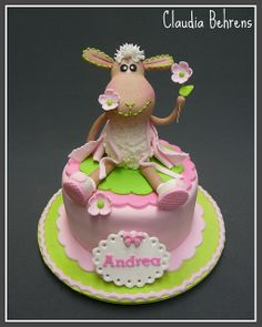 sheep cake andrea - claudia behrens by Claudia Behrens ~ Cakes, via Flickr