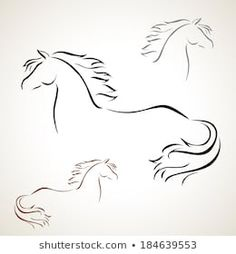 Find Vector silhouette of a horse's head Stock Images in HD and millions of other royalty-free stock photos, illustrations, and vectors in the Shutterstock collection. Horse Head Drawing, Silhouette, Paper Art, Royalty Free Stock Photos, Arts And Crafts, Horses, Drawings, Art Ideas, Pictures