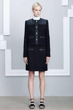 Jason Wu Resort 2015. xx Dressed to Death xx #inspiration #style #fashion #model #collection #black