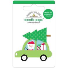 Doodlebug Design Christmas Here Comes Santa Claus Collection Doodle-Pops Special…