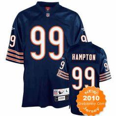 59148b43ab4 $25.00 2010 NFL Jersey Chicago Bears Dan Hampton #99 Blue Nfl Chicago Bears,  Nike