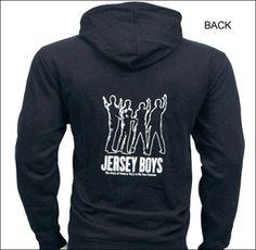 Jersey Boys the Broadway Musical - Black Zippered Hoodie Sweatshirt Fabulous Fox, Jersey Boys, Hoodies, Sweatshirts, Broadway, Sweaters, Black, Black People, Parka