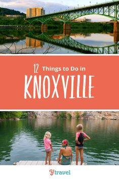 Knoxville, Tennessee Vacation Ideas. Planning to visit Knoxville? Here are 12 fun things to do in Knoxville Tennessee plus get tips on hotels and where to stay and best restaurants and places to eat local food. Don't go on your Knoxville vacation until you have read these Knoxville travel tips with kids. Outdoor attractions, downtown activities, and more for your Tennessee road trip or weekend getaway #Knoxville #Tennessee #travel #familytravel #tennesseetravel #knoxvilletravel #vacation