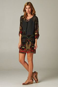 Catch Bliss Boutique - Sonia Paisley Tunic , $54.00 (http://www.catchbliss.com/sonia-paisley-tunic/)