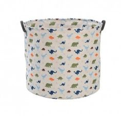 NS0003 Cooper Printed Storage Tub Dinosaurs. Holds up to 20kg of toys and what boy doesn't love dinosaurs!