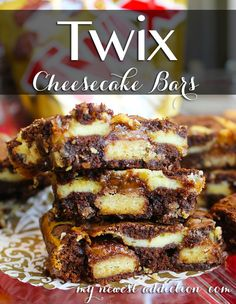 TWIX® Cheesecake Bar Recipe - My Newest Addiction Beauty Blog