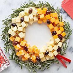 Para servir com charme ( azeitonas, queijos e alecrim) #christmas #natal #decor #organizesemfrescuras