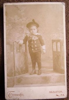 Antique Victorian Child