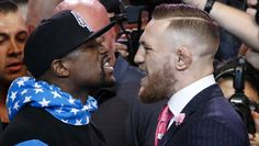 Conor McGregor Mocks Rob Kardashian During Racist Tirade Against Floyd Mayweather https://tmbw.news/conor-mcgregor-mocks-rob-kardashian-during-racist-tirade-against-floyd-mayweather  The smack talk is getting intense between Floyd Mayweather and Conor McGregor ahead of their big boxing match. The Irishman threw the racist taunt 'boy' at his oppoent while also dissing Rob Kardashian!The tour de smack between Floyd Mayweather Jr., 40, and Conor McGregor, 28, rolled on as the two men headed to…