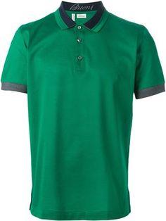 Designer Polo Shirts for Men 2015 - Fashion - Farfetch Mens Golf Fashion 2018 Mens Golf Wear, Mens Golf Outfit, Mens Golf Fashion, Man Fashion, Fashion 2018, Golf Sweaters, Polo T Shirts, Dress Shirts, Shirt Designs