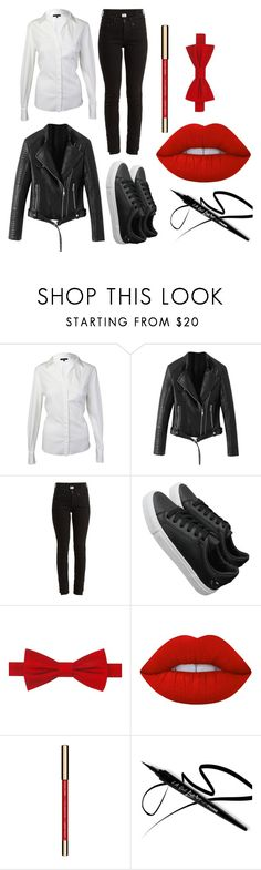 """Halloween 2017"" by ariartist-1513 on Polyvore featuring Vetements, Tommy Hilfiger, Lime Crime and John Lewis"