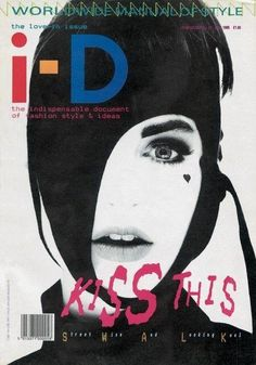 i-D magazine, July 1985