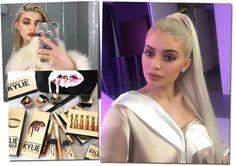 Kylie Jenner faz questão de compartilhar inúmeros cliques de beleza no perfil do Instagram - o sucesso das makes resultou em uma linha (também hit) própria de beauté (Foto: Reprodução/Instagram)