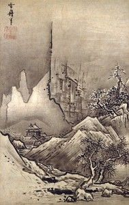 Sesshu Toyo, Ink Painting
