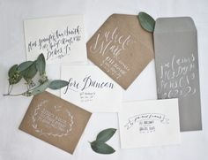 Lettering/Calligraphy - Meghan Kay Sadler