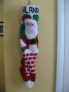 Ravelry: svenjalynn's Vintage Christmas stocking
