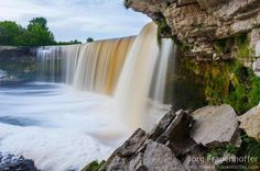 The Jägala Waterfall (Estonian: Jägala juga) is a waterfall in Northern Estonia on The Jägala River. It is the highest natural waterfall in Estonia with height about 8 meters. Photo by Jorg Frauenhoffer