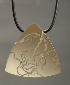 Daniel M. Rondeau - Jewelry Gallery - Jewelry Gallery - Ganoksin Orchid
