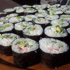 California Roll Sushi Allrecipes.com