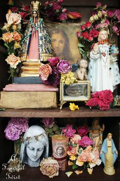 Saints and Flowers 4 by A Fanciful Twist, via Flickr
