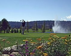 Whitetail golf course in McCall (southwest).  Truly a work of art!