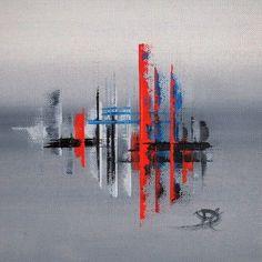 L'oeuvre unique et originale Errance 181 a été réalisée par l'artiste Claudine Cornille, qui conçoit des peintures abstraites très colorées avec du collage, des montages ou encore du filigrane.