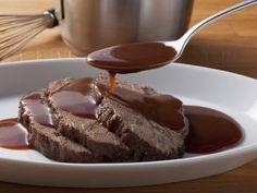 Beef Recipes Roast beef with sauce – smarter – time: 45 min. Carne Asada, Sweet Crepes Recipe, Sauce Tartare, Baking Recipes, Dessert Recipes, Easy Teriyaki Chicken, Salsa, Roast Beef Recipes, Winter Desserts