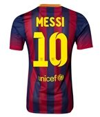 Barcelona 13/14 MESSI Authentic Home Soccer Jersey