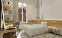 Jasa Desain Interior Kamar Kost Bed, Interior, Furniture, Home Decor, Decoration Home, Stream Bed, Indoor, Room Decor, Home Furnishings