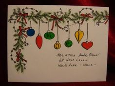 Decorative Holiday Envelopes By: Michael A. Trent, Artistic Guide  With all the joy and creativity going into making your own holiday cards, why not decorate the envelopes as well?  It doesn't have...