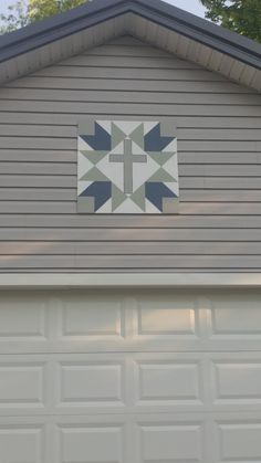 Barn Quilt hubby made me! Barn Quilt Designs, Barn Quilt Patterns, Pattern Blocks, Quilting Designs, Star Quilts, Quilt Blocks, Painted Barn Quilts, Barn Signs, Wooden Barn