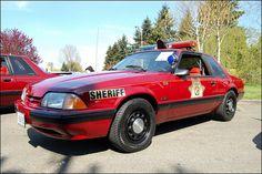 1988 PCSD SSP Mustang - Unit #1310 (My car)