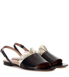 mytheresa.com - Leather Sandals » Dries Van Noten ∇ mytheresa - Luxury Fashion for Women / Designer clothing, shoes, bags
