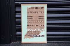 People for Urban Progress - Products - I Have An IdeaPoster.