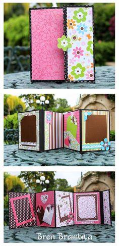 Stamping Paper, Mini Album, Retos,
