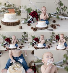 Happy First Birthday James! {McFarland and Madison area children's photographer, Krista Roder with Vintage Pear Photography, cake smash}