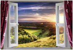 Amazing Window View Poster