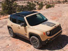 ''2017 Jeep Renegade Deserthawk'' Nouvelles voitures les plus chaudes pour 2017