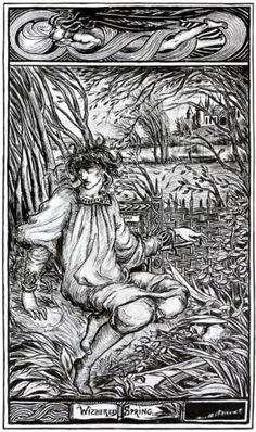 Withered Spring - Aubrey Beardsley