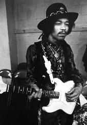 Jimmy Hendrix: Probably one of the best guitarists in history, Hendrix challenged music and style head-on. He was always seen wearing original vintage and hippy style fashion as he professed his support for the hippy movement in the 1960's, his velvet suits and silks shirts were always adorned with brooches, necklaces, bracelets and rings.