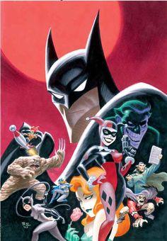 batman art by bruce timm - Google Search